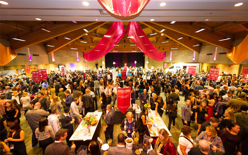 The CRUSH Grand Gala tasting is a highlight of the festival