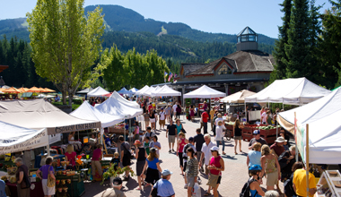 A Sunny Day At The Whistler Farmers' Market